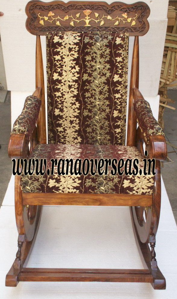 Wooden Rocking Chair 2