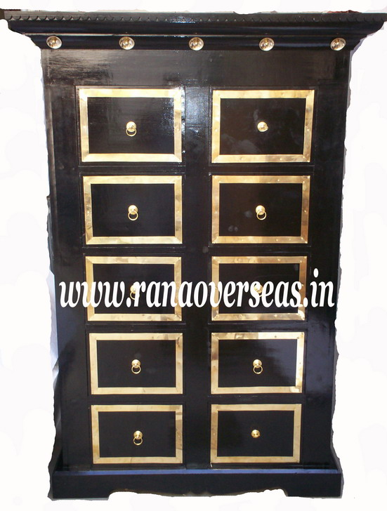 Wooden Drawer Chest - 1