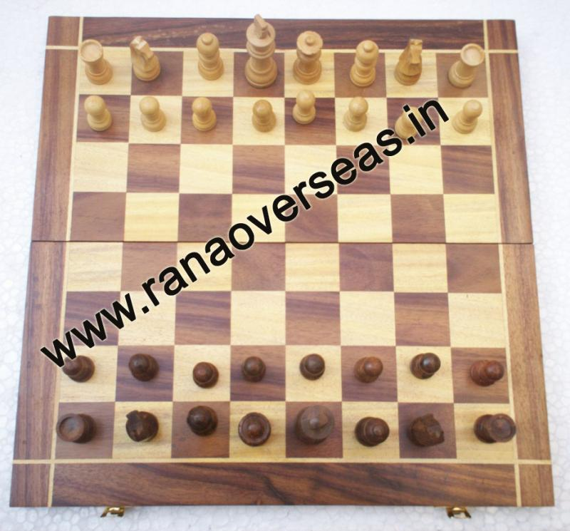 Wooden Chess Set - 1