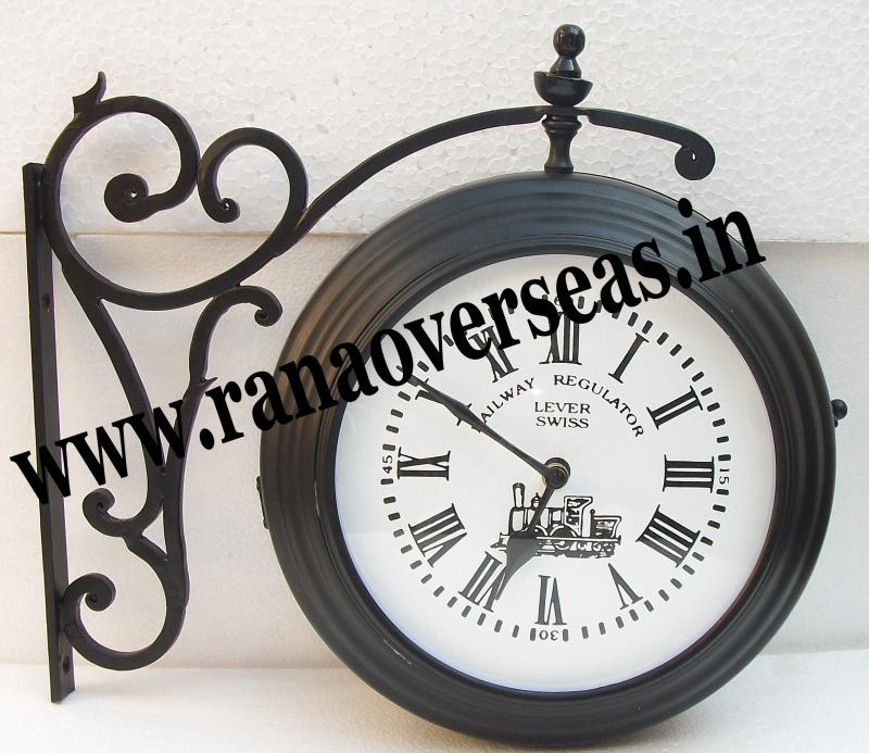 New look double sided clock