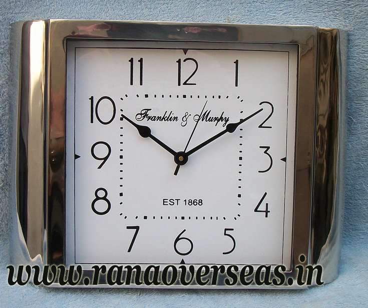 New Look New Design Steel Clock in 15 x 11 Inches.