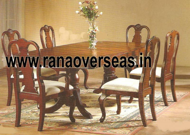 Wooden Dining Table Set 3