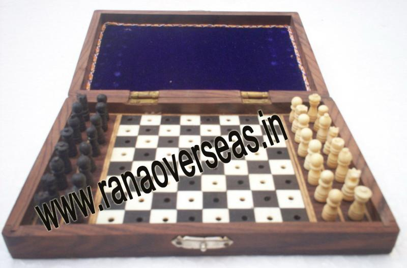 Wooden Chess Set - 2