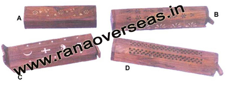 Wooden Incense Box - 11