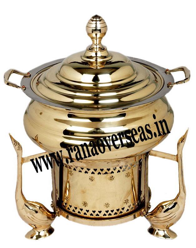 Brass Chefing Dish 12