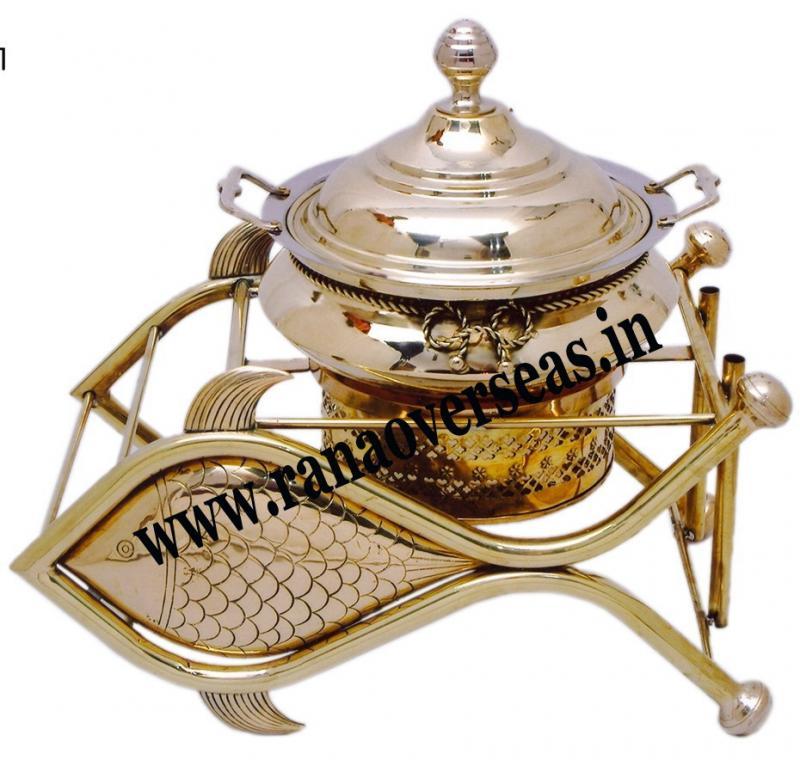 Brass Chafing Dish 16