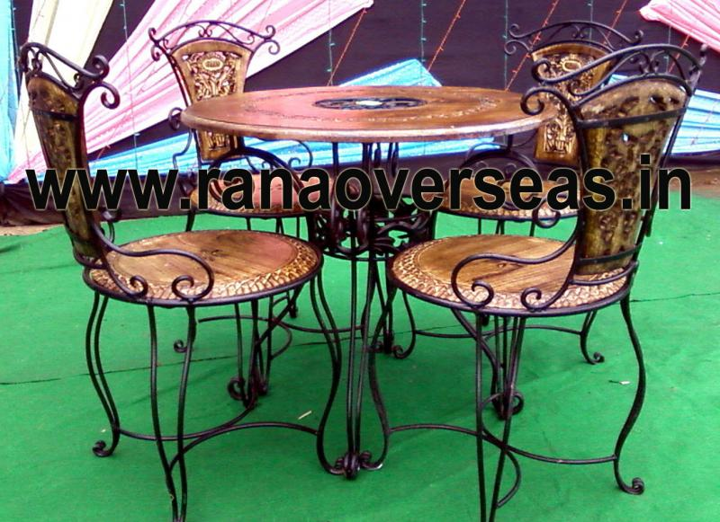 Wooden Dining Table Set 4