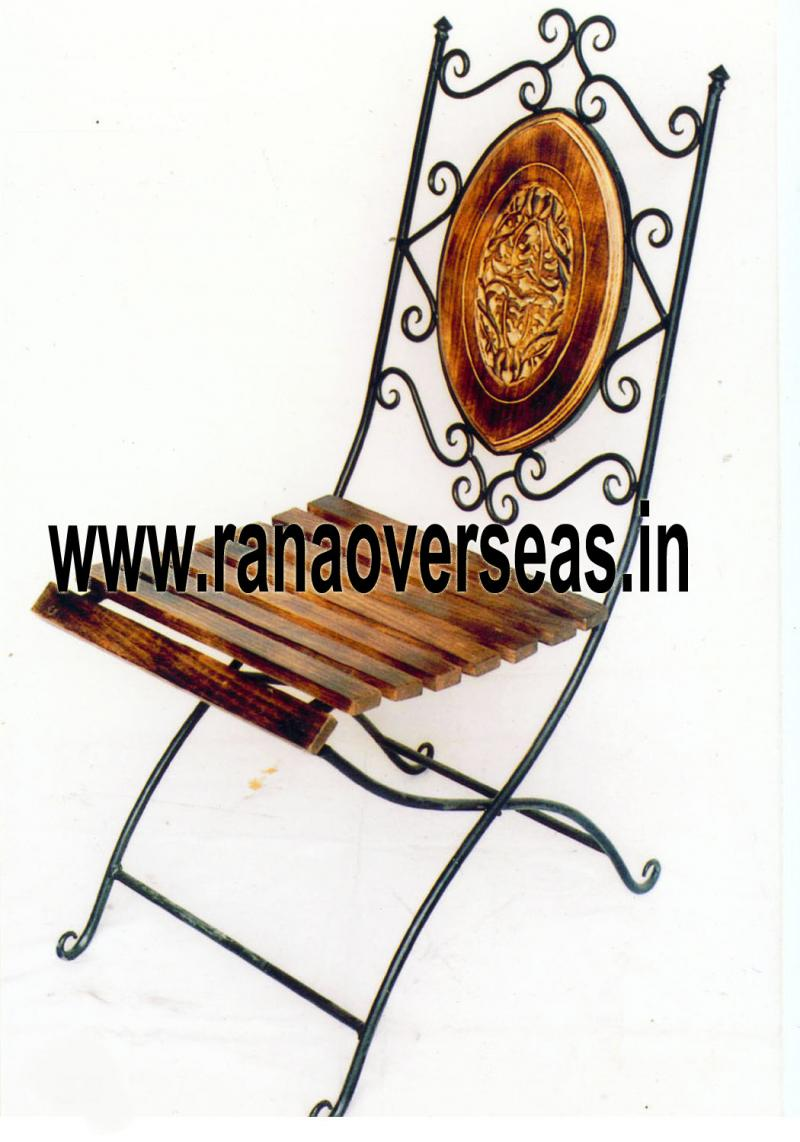 WOOD IRON COMBINATION CHAIR 2