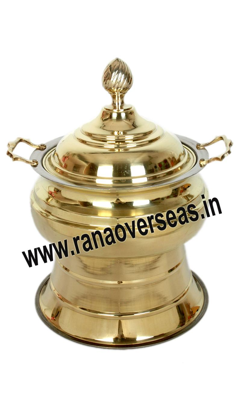 Chafing Dish in Brass Item No.111