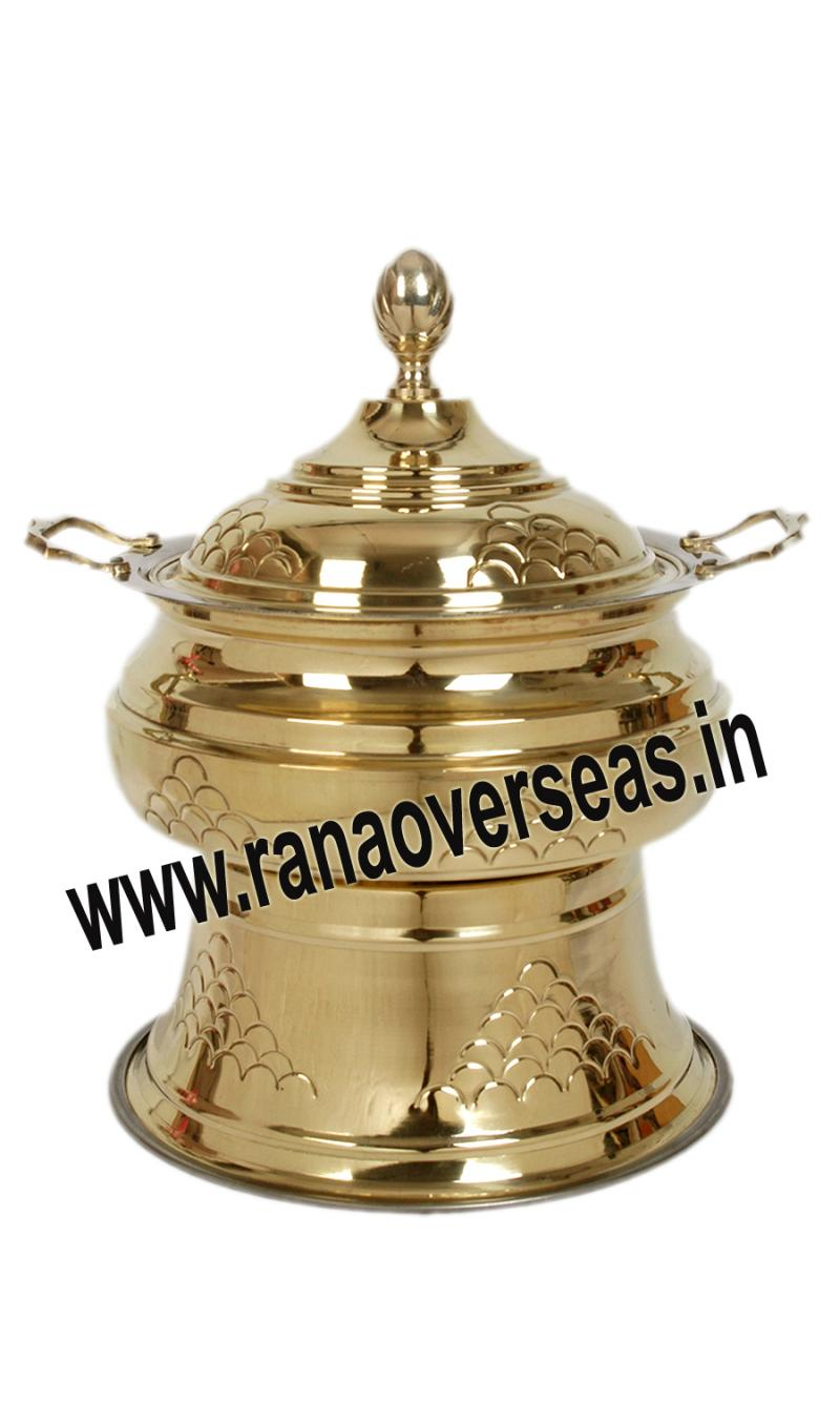 Chafing Dish in Brass Item No.113