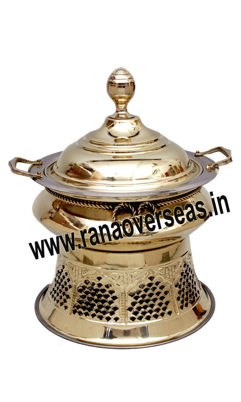 Chafing Dish in Brass Item No.115