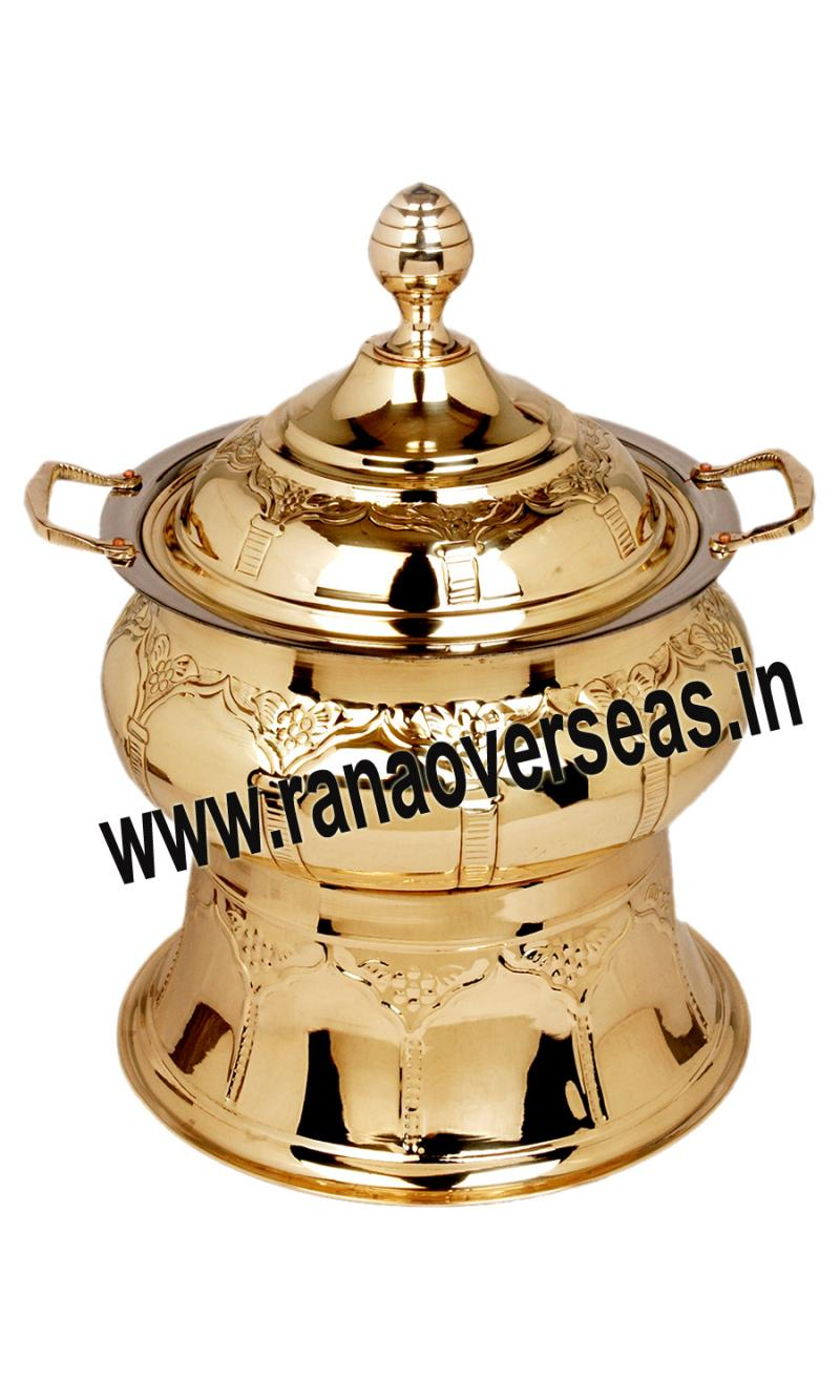 Chafing Dish in Brass Item No.117