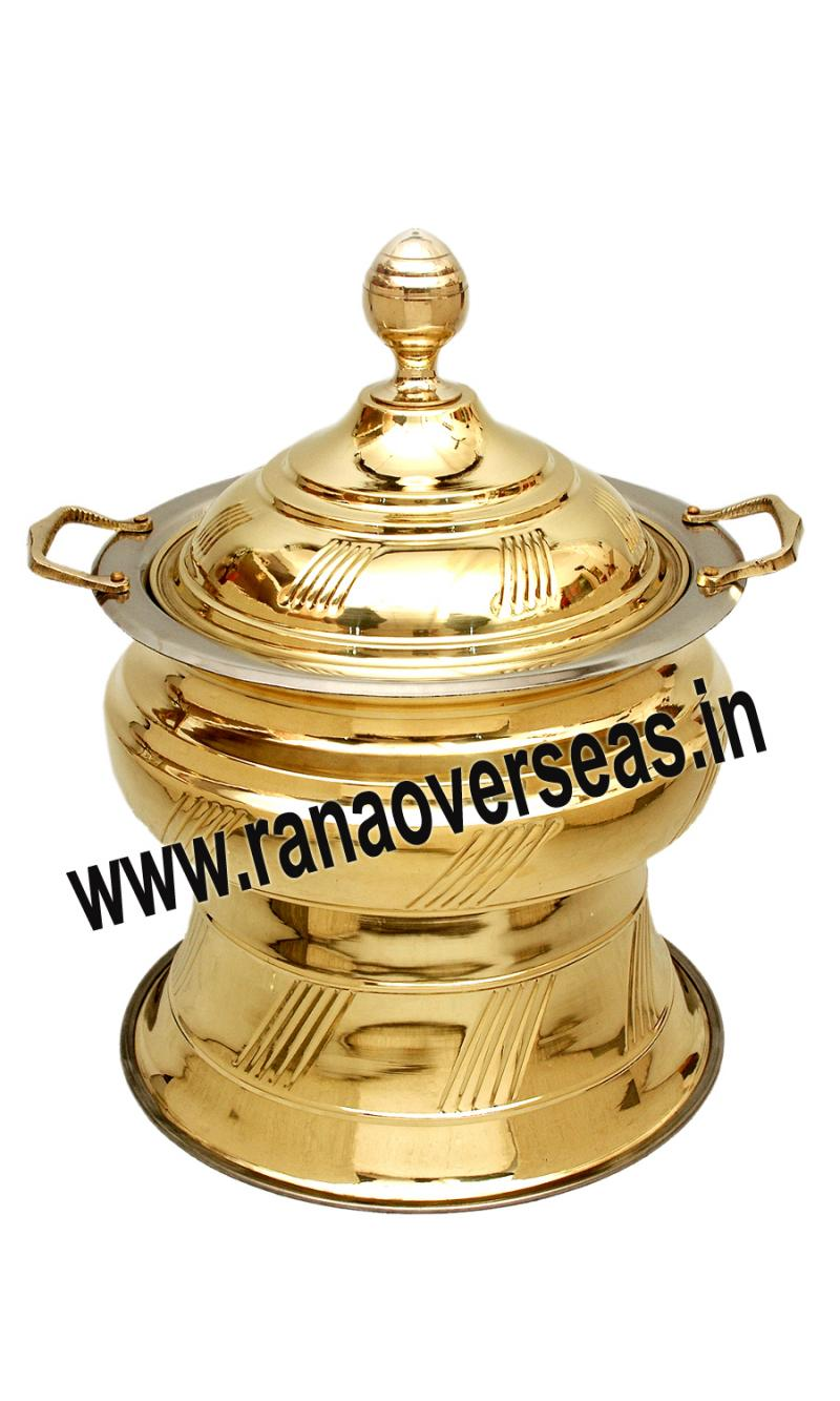 Brass Chafing Dish No 119