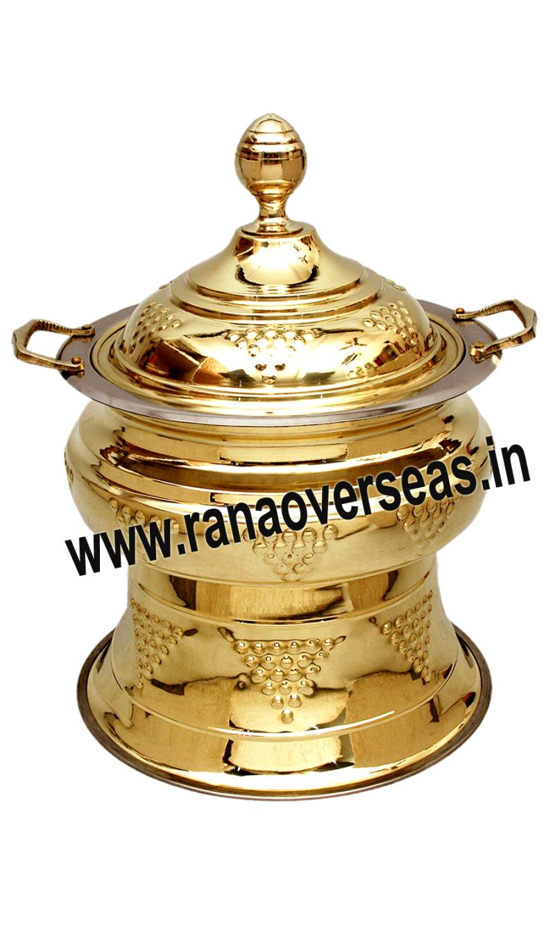 Brass Chafing Dish No 120