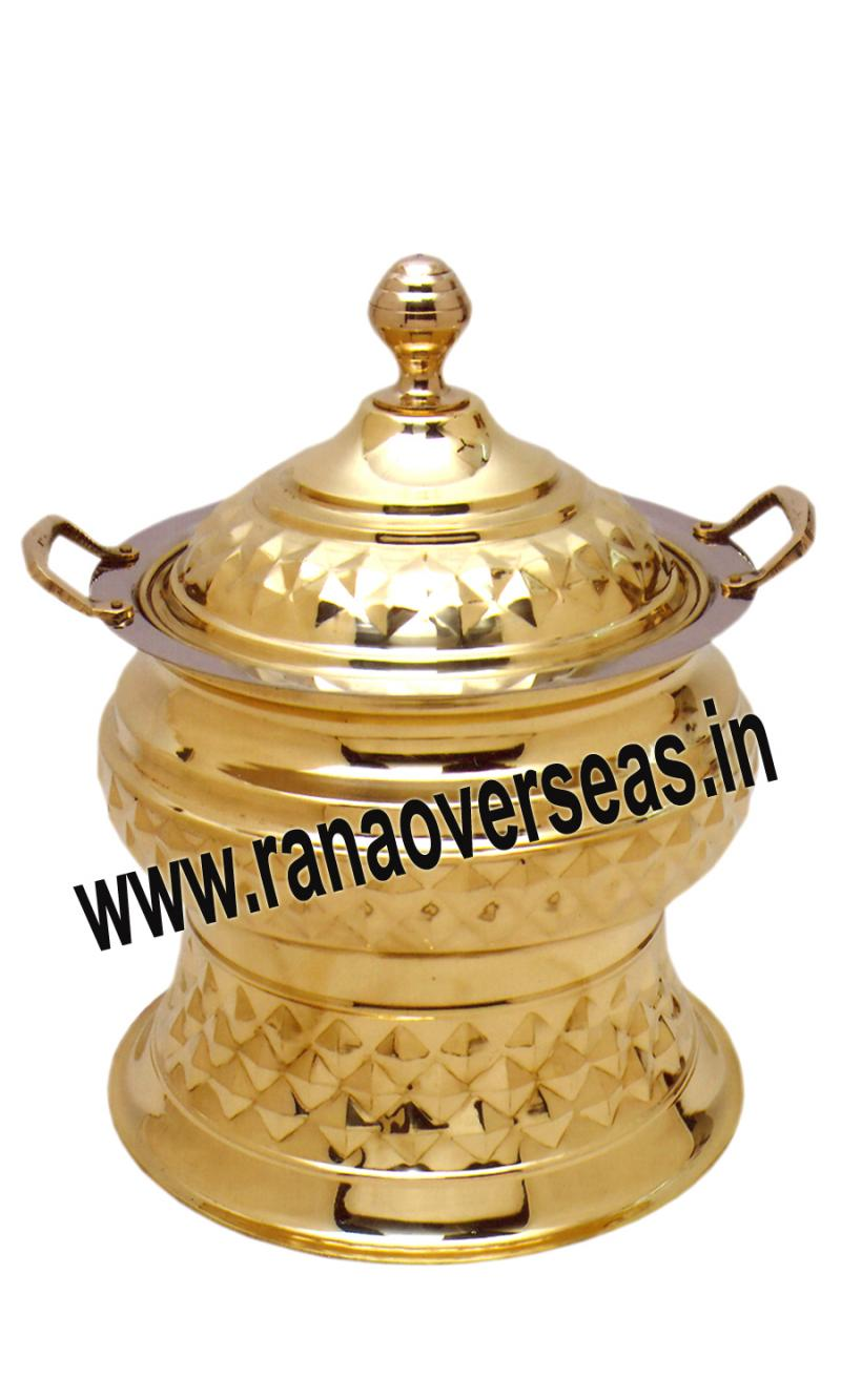 Brass Chafing Dish No 121