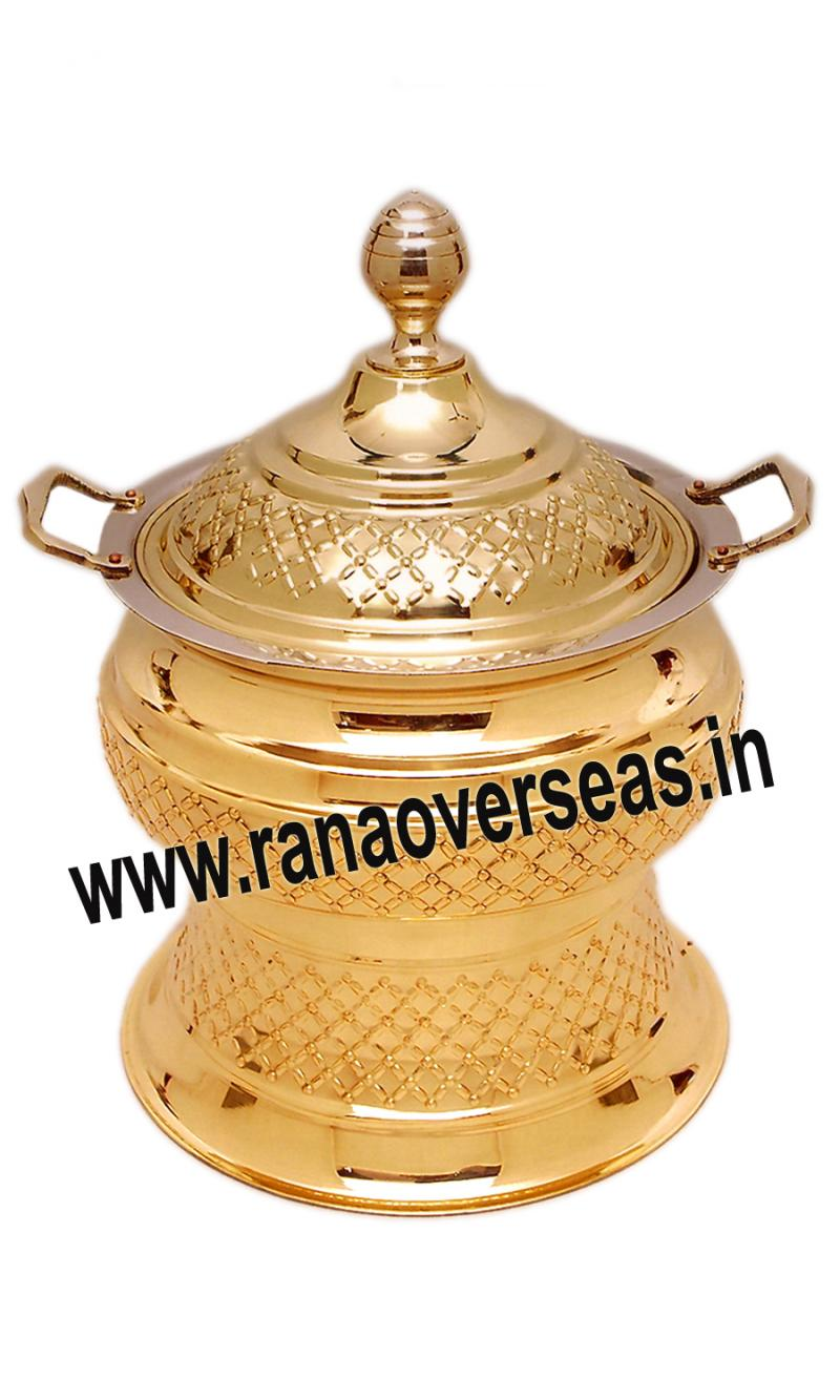 Brass Chafing Dish No 122