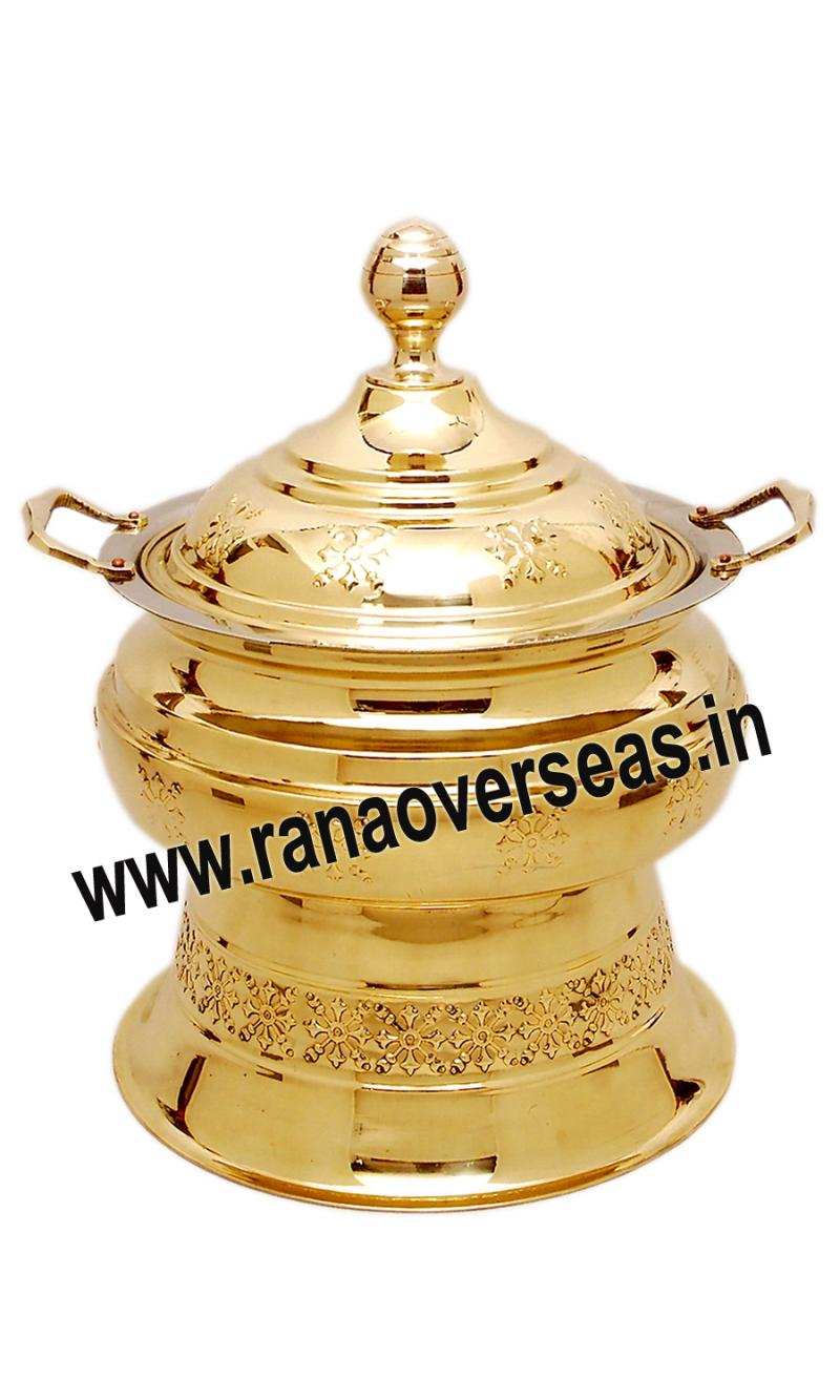 Brass Chafing Dish No 123