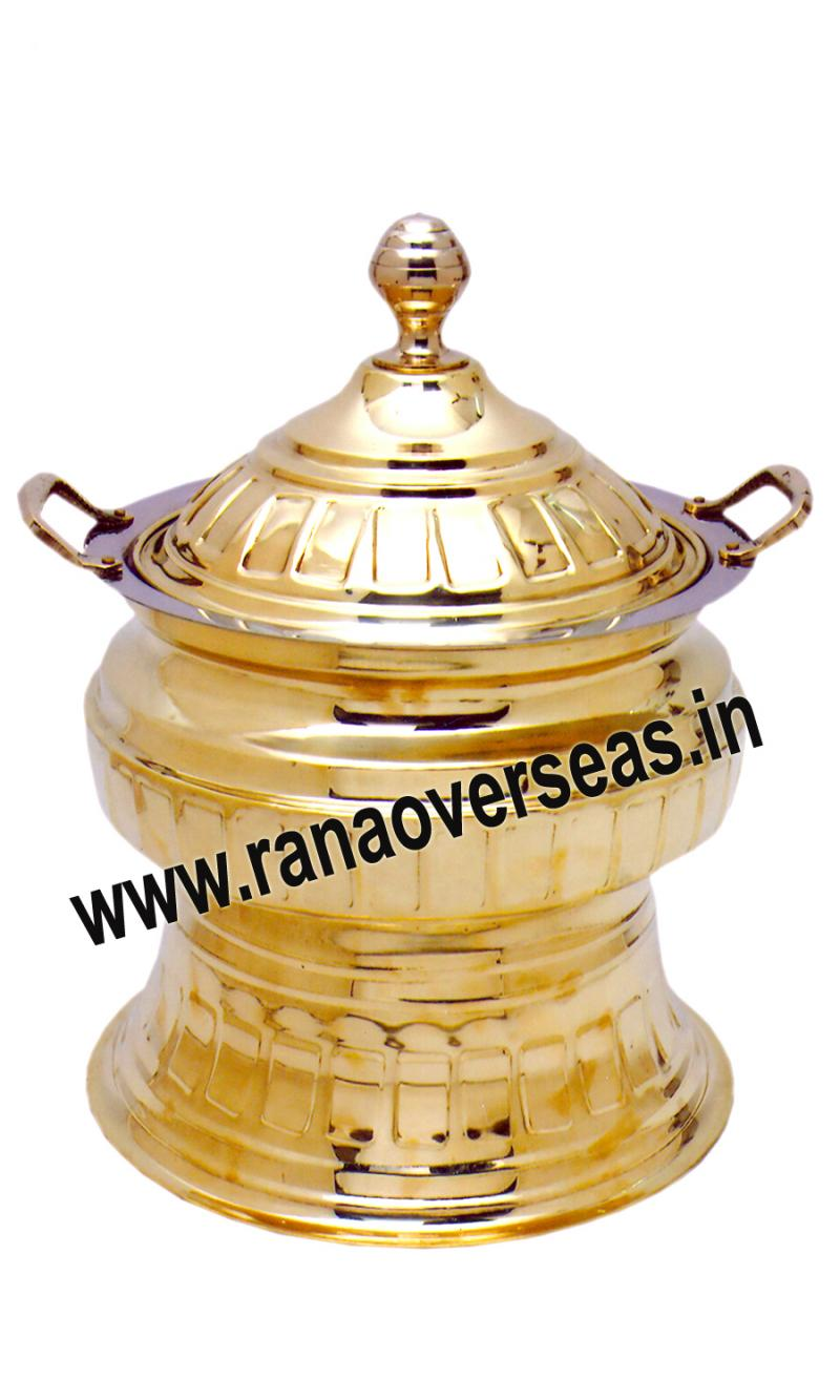 Brass Chafing Dish No 124