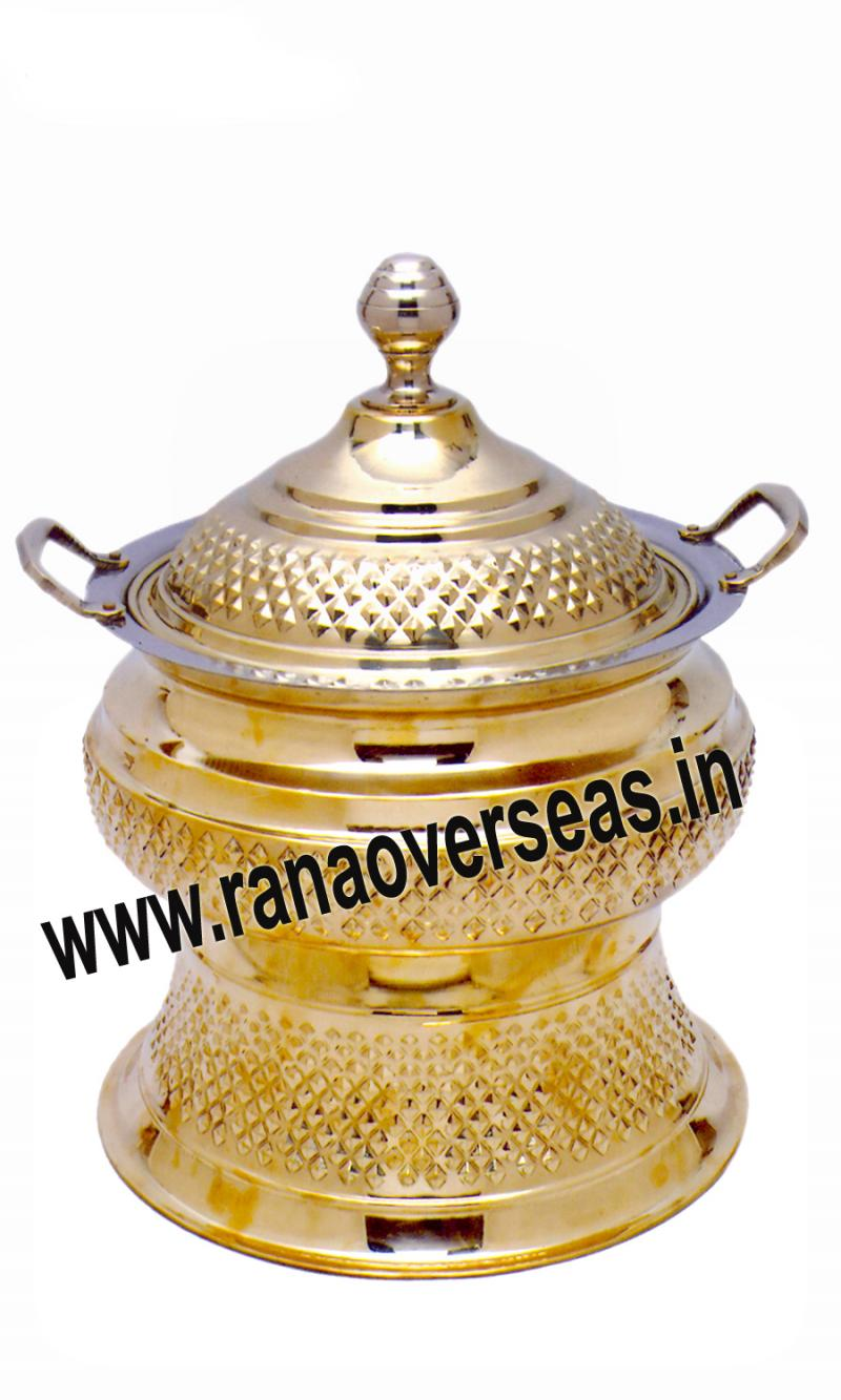 Brass Chafing Dish No 126