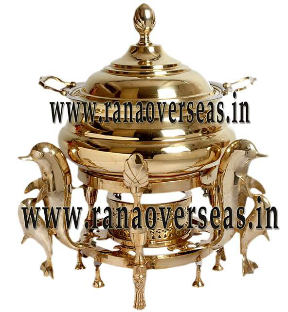 Brass Chafing Dish No 6