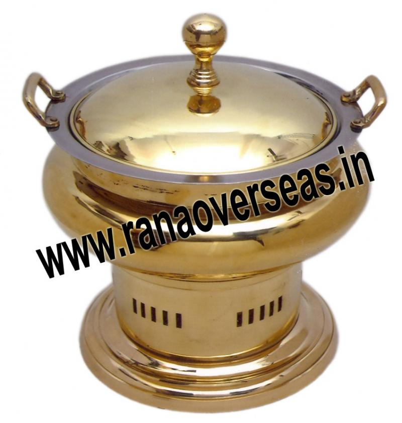 Chafing Dish in Brass Item No.96