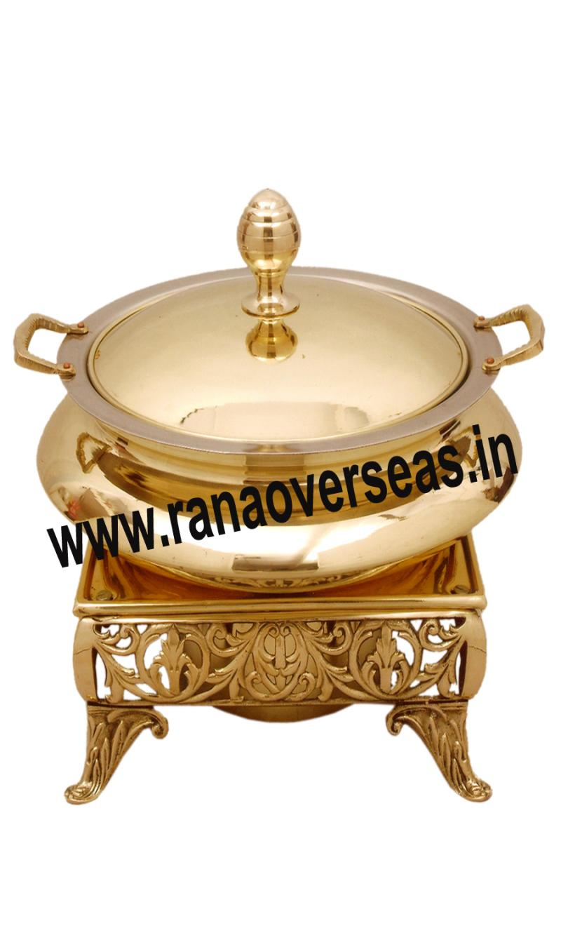 Chafing Dish in Brass Item No.98