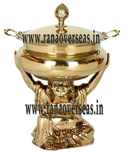 Brass Chafing Dish No 7