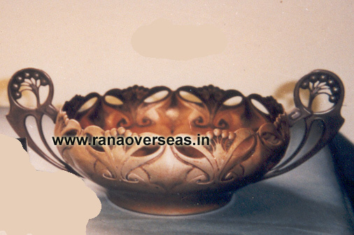 Brass Serving Dish 9