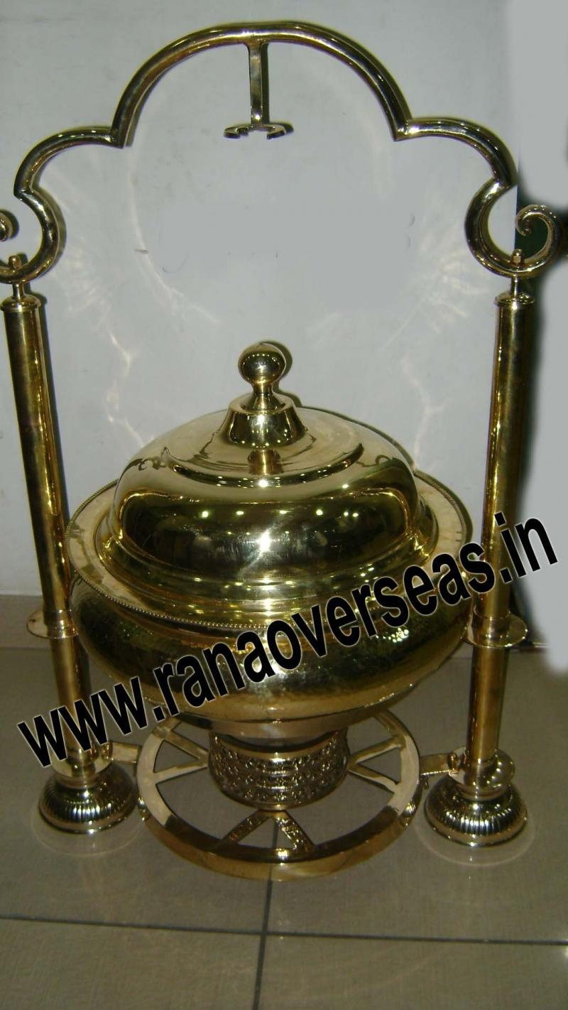 Brass Chafing Dish No.42