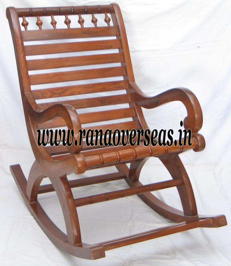 Wooden Rocking Chair 4