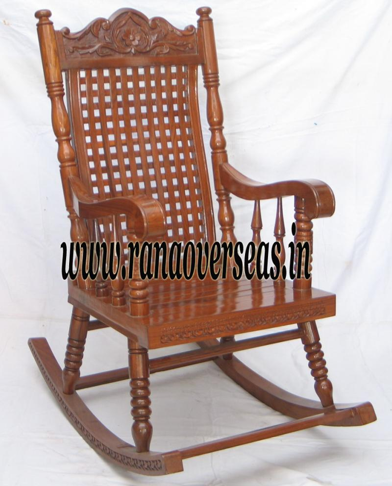 Wooden Rocking Chair 5
