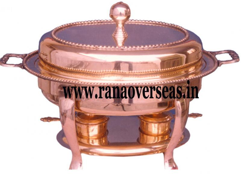 Chafing Dish in Copper Metal Item No 23