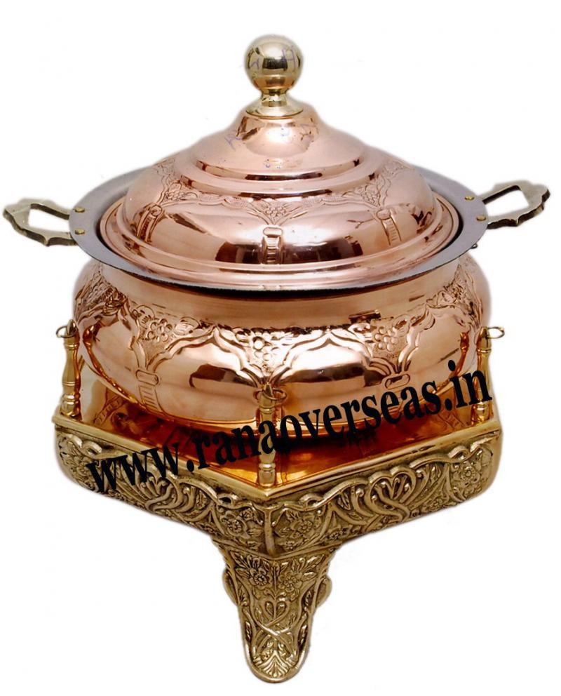 COPPER CHAFING DISH 25