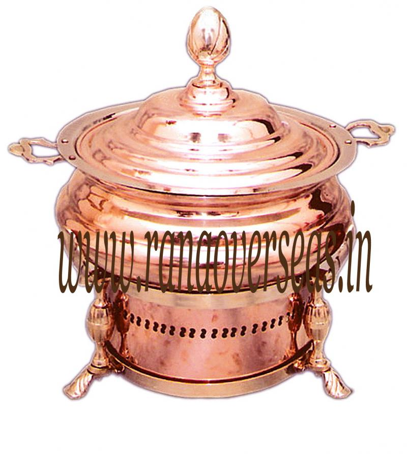 COPPER CHAFING DISH 26
