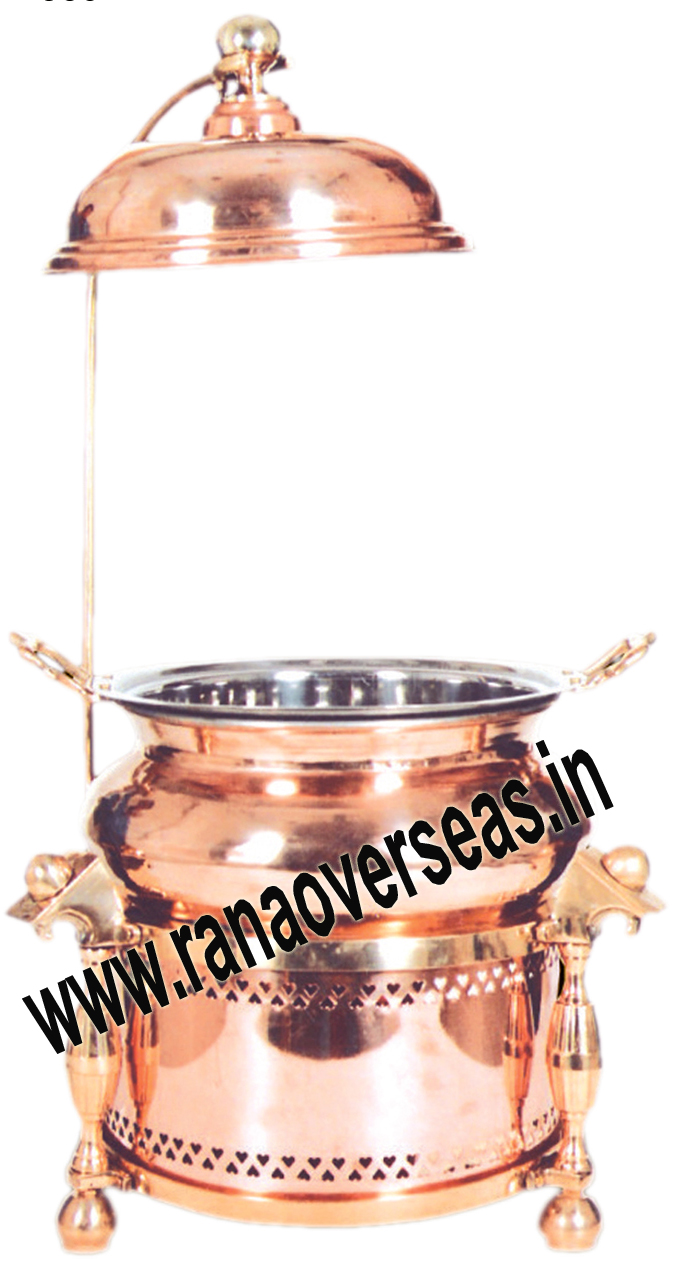 Chafing Dish in Copper Metal Item No 61