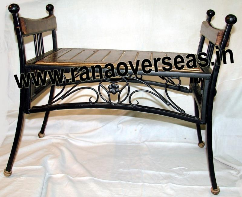 WOOD IRON COMBINATION CHAIR 3
