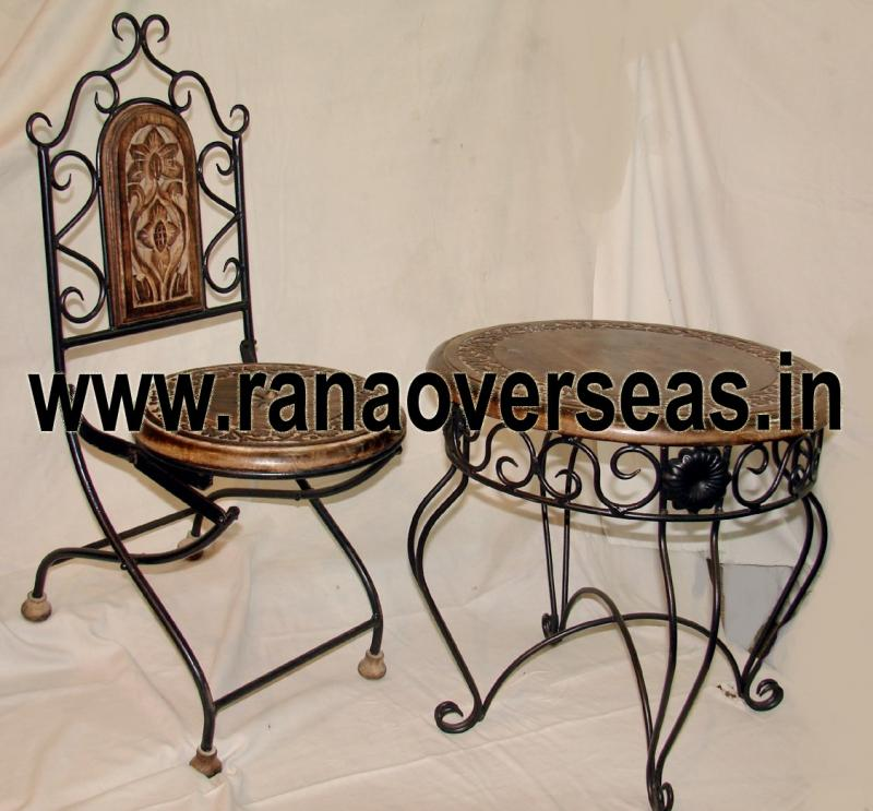 Wooden Chair Table Set 3.