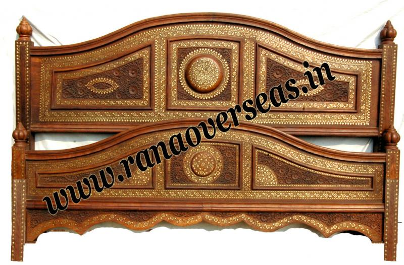 Wooden Double Bed 2