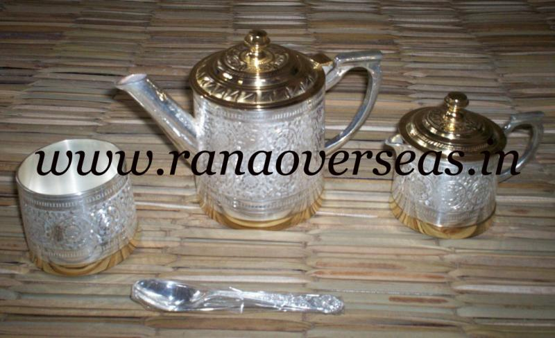 Silver Plated tea set 1