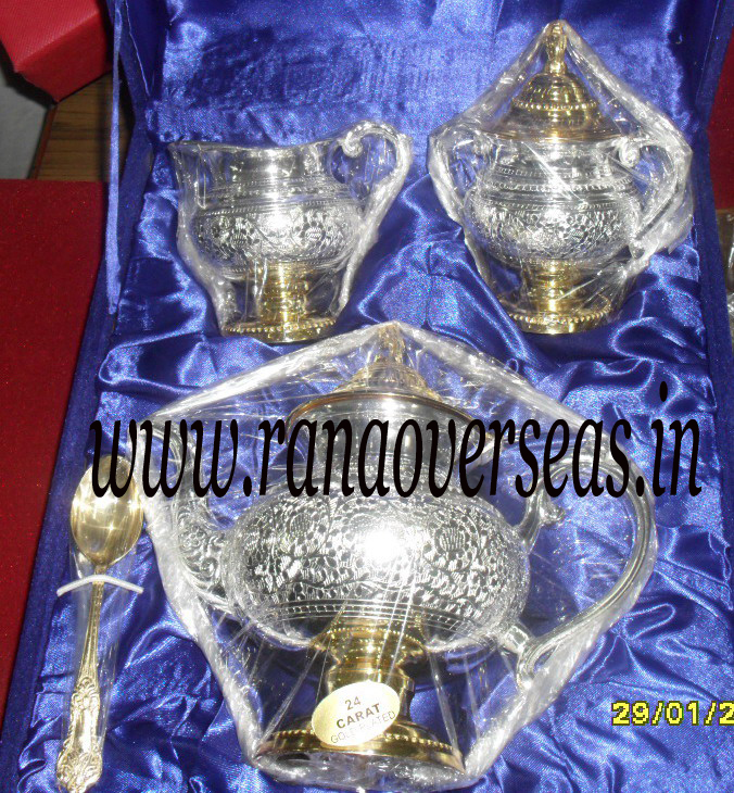 Silver Plated tea set 3