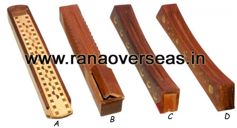 Wooden Incense Box - 4
