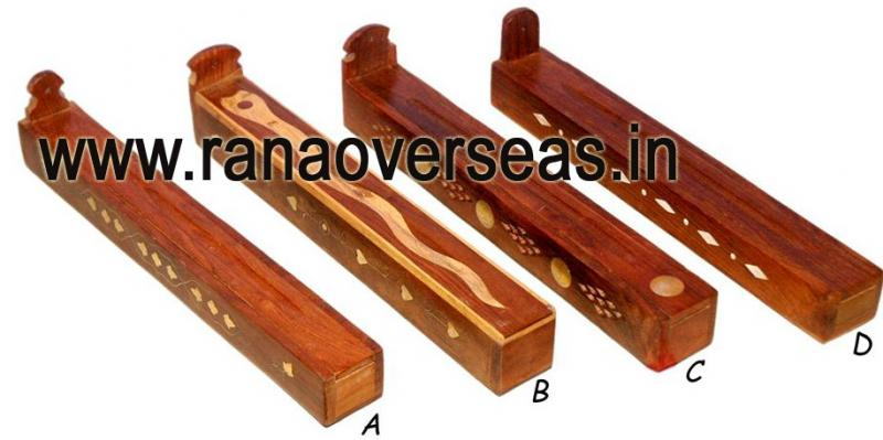 Wooden Incense Box - 7