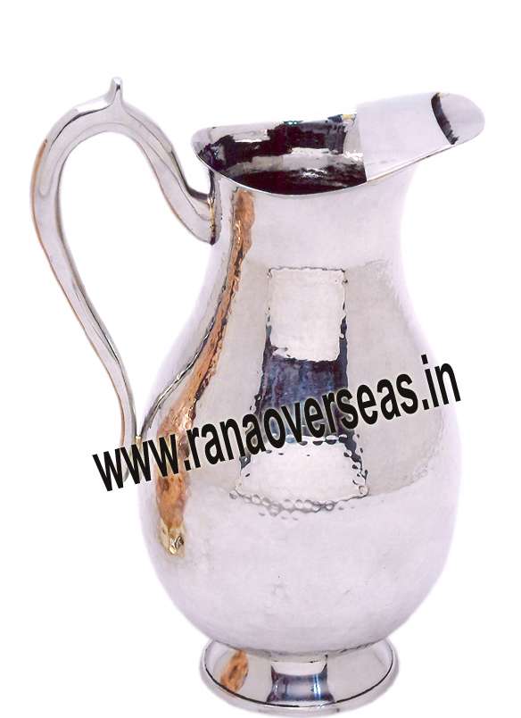 STAINLESS STEEL CATERING JUG 6