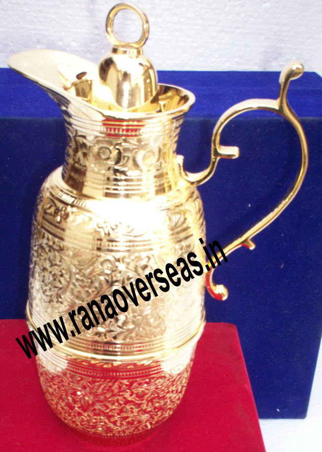 Gold Plated 24 K Flask for serving Tea