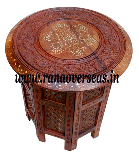 Wooden Octagonal Table 1