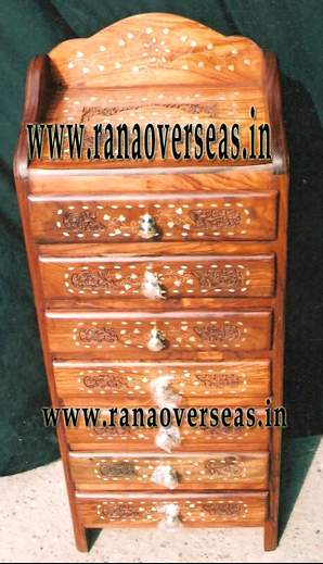 Wooden Drawe Chest - 1