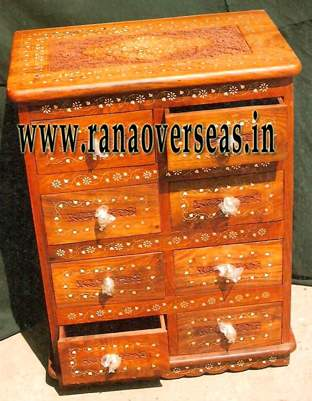 Wooden Drawe Chest - 2