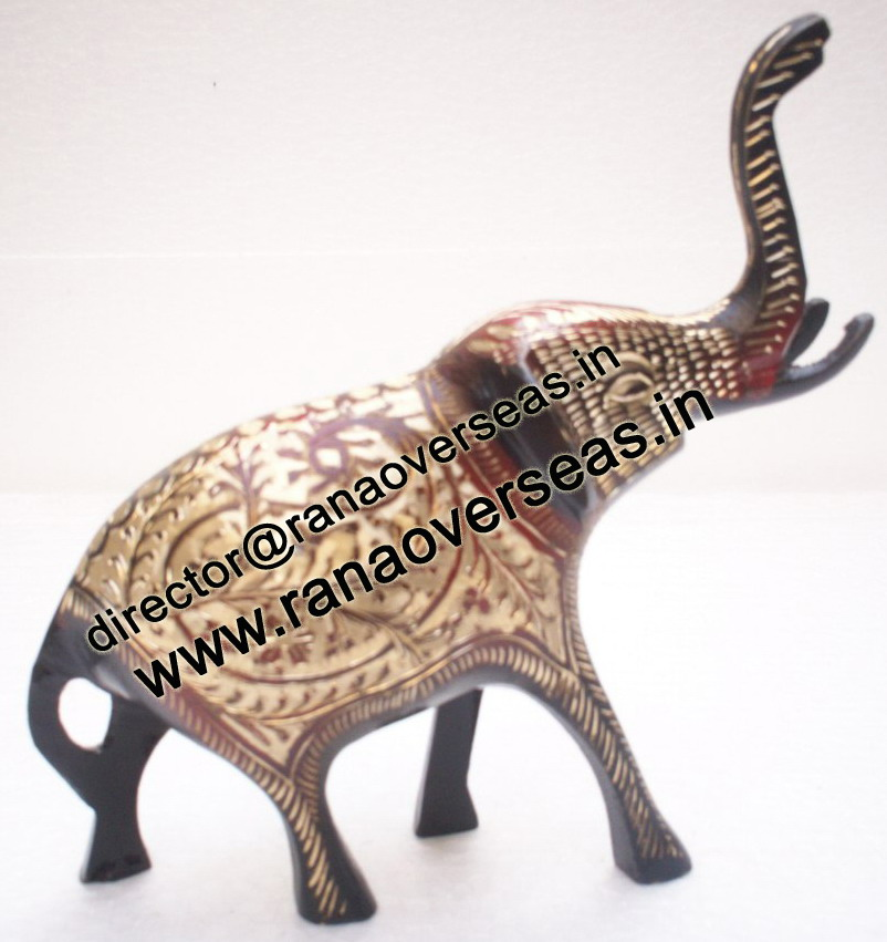 Brass Metal Elephant