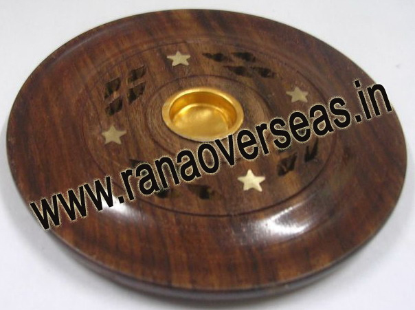 Wooden Incense Holder - 14