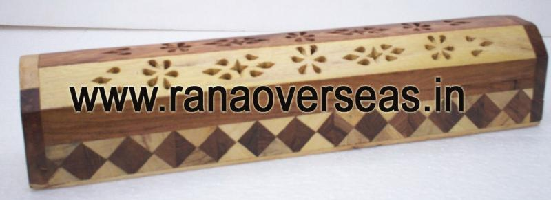 Wooden Incense Box - 1